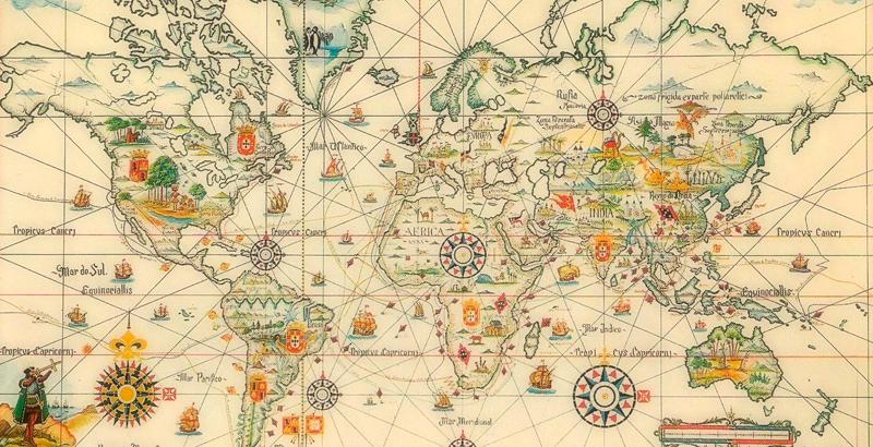 De esta manera España y Portugal se repartieron el mundo en el Tratado de  Tordesillas - National Geographic en Español