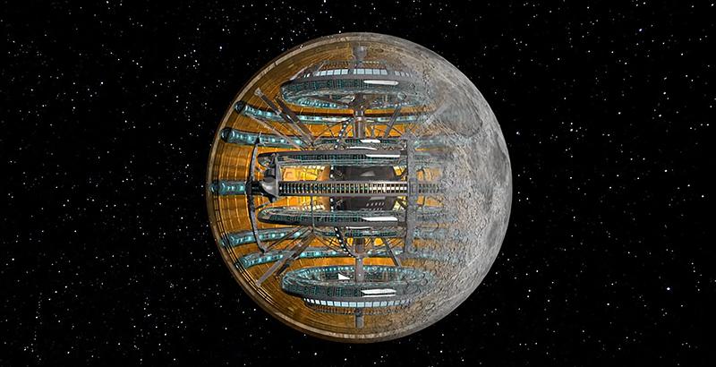 Resultado de imagen para luna artificial