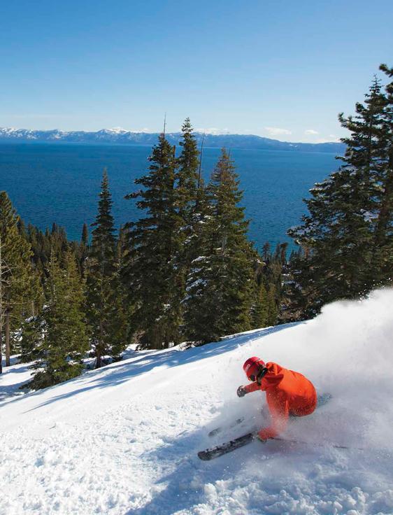 Lake Tahoe para Esquiar
