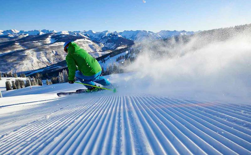 Esquiar en Vail.