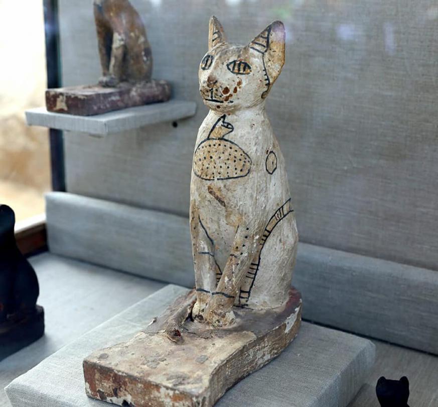 Estatua Felino
