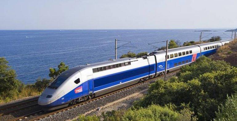 tren en Europa