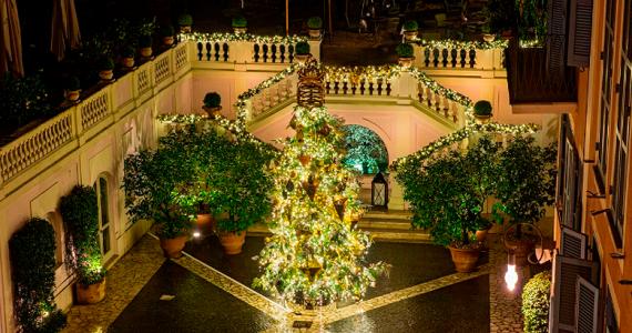 árbol de Navidad en Roma