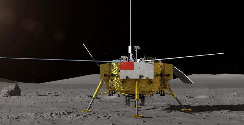 cara oculta de la luna China