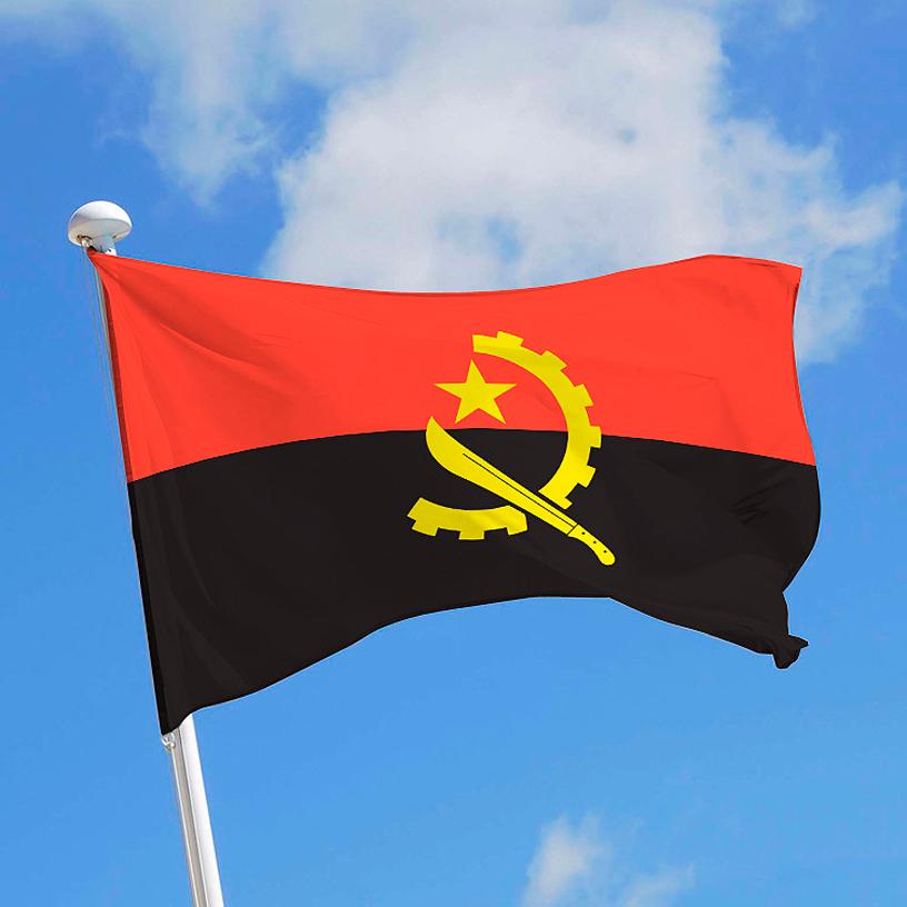 Angola bandera
