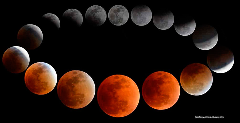 A qué hora se verá el eclipse total de Luna en México? - National  Geographic en Español