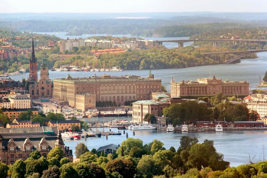 Estocolmo Suecia Capital Verde