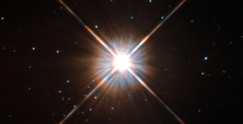 Próxima Centauri sistema solar
