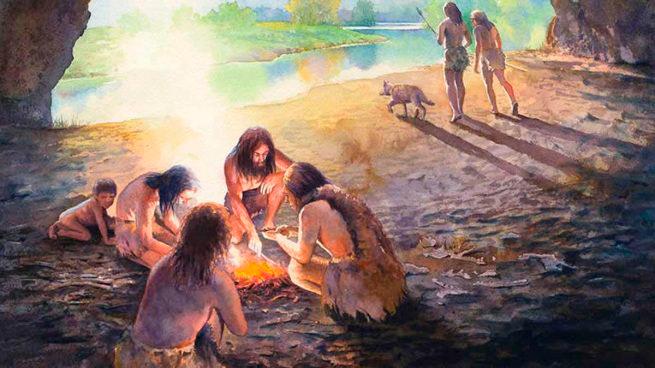 herramientas de madera neandertales