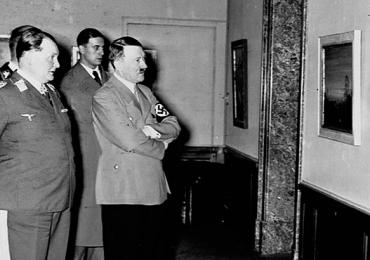 Hitler subasta cuadros