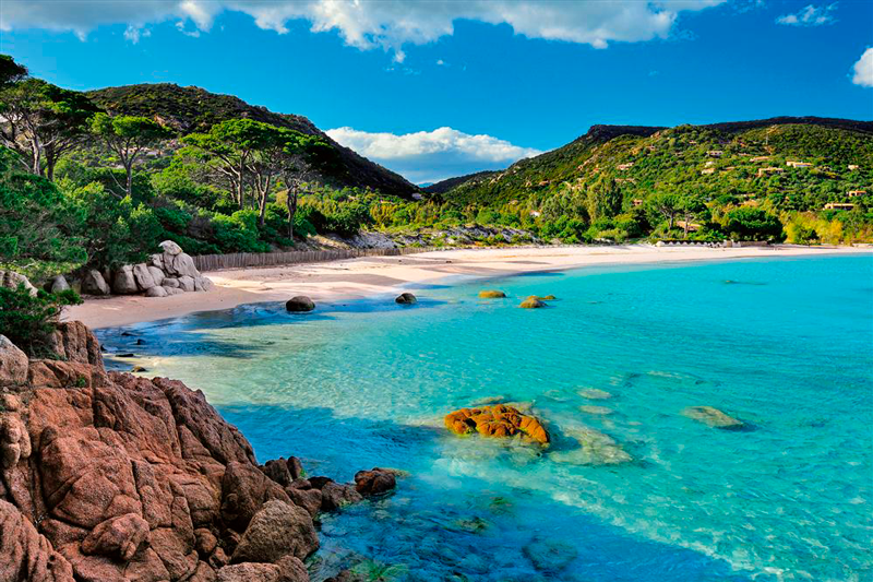 Francia Playa Europa Córcega