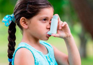 asma infantil pescado