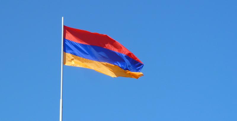País bandera Armenia