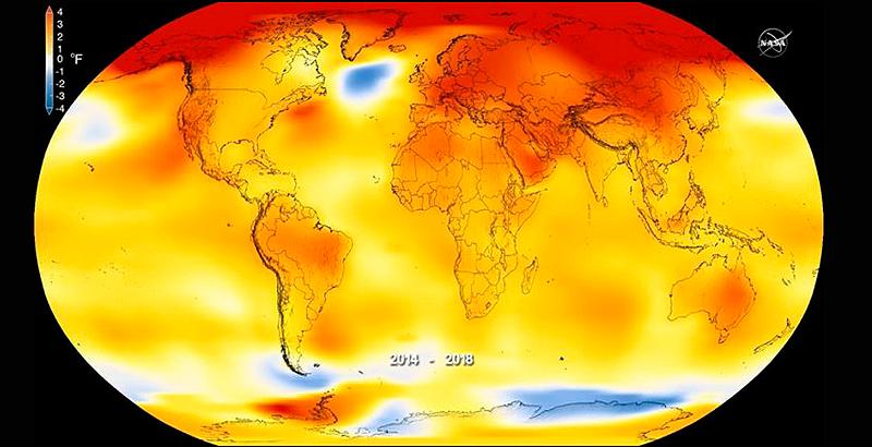 Calentamiento global 2018