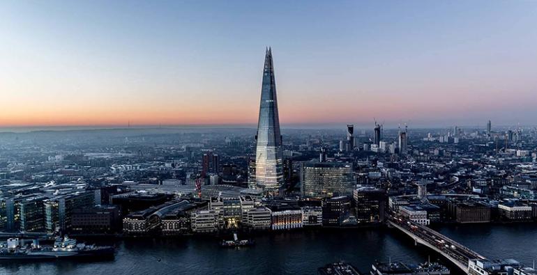 Londres vista The Shard