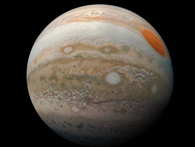 La Gran Mancha Roja Júpiter