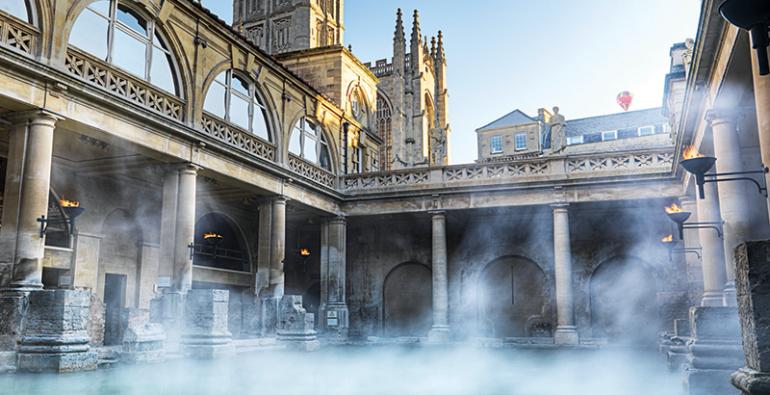 Bath aguas termales Gran Bretaña