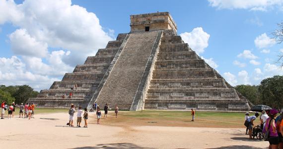 Chichén Itzá serpiente de viento