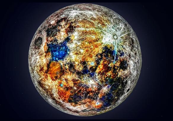 Luna Colores ocultos