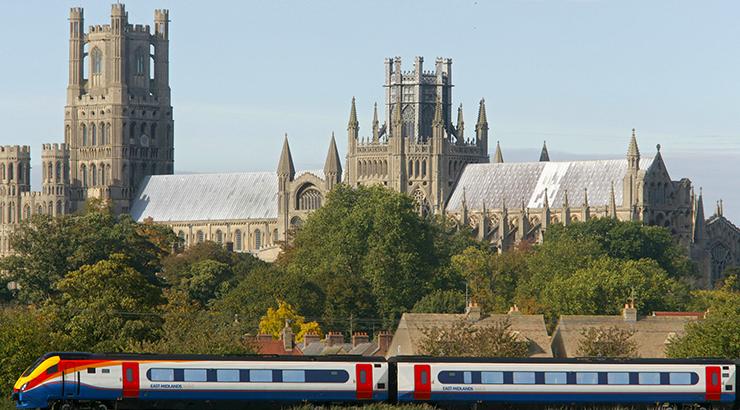 Europa Tren 2019 catedral de Ely Cambridgeshire