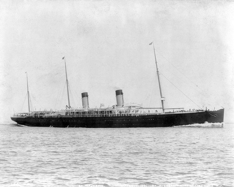Majestic White Star Line transatlántico barco