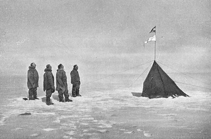 Antártida Roald Amundsen Polo Sur