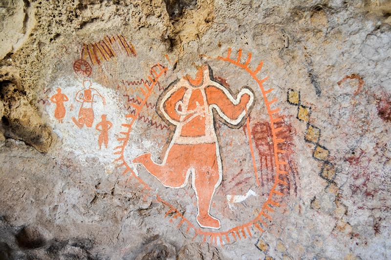Chihuahua pinturas rupestres