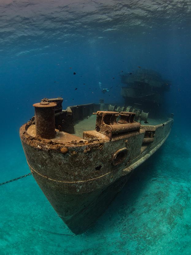 barco naufragio
