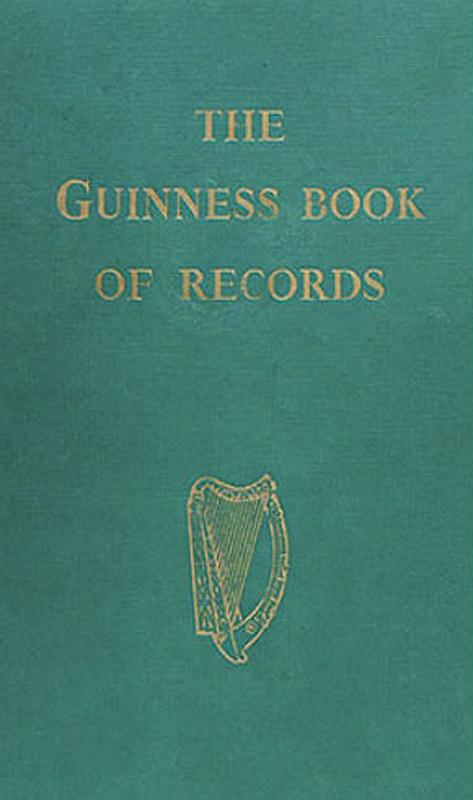 Libro de los Récord Guinness robado