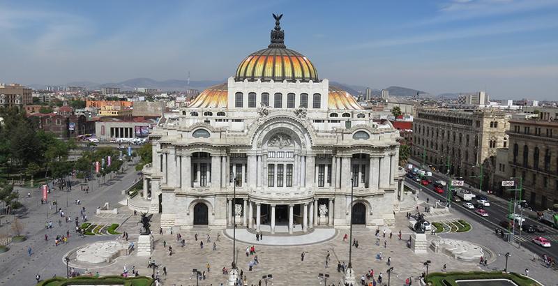 Ciudad de México Palacio de Bellas Artes