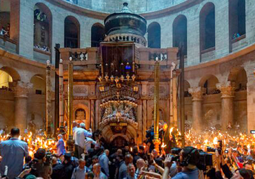 Semana Santa Jerusalén Santo sepulcro