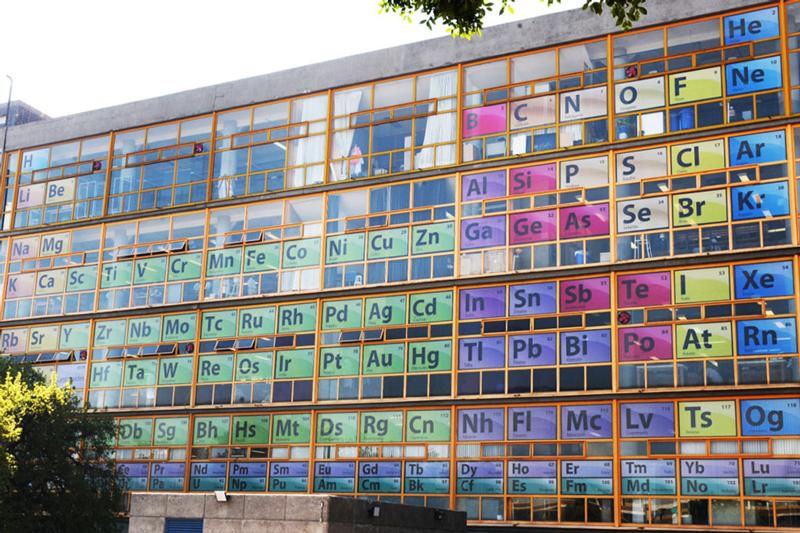 Tabla periódica de los elementos UNAM