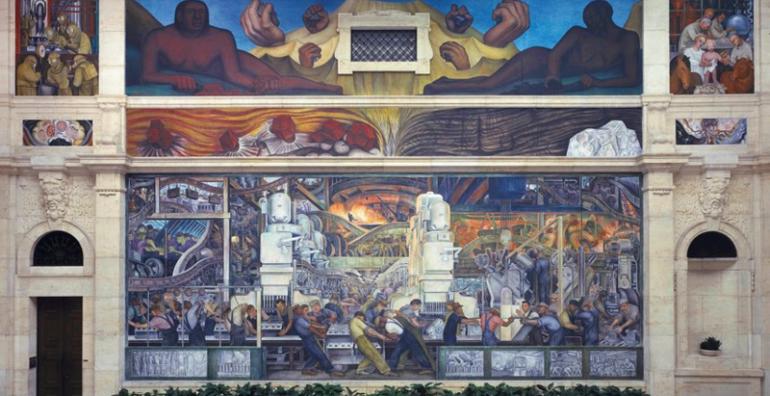 muralistas mexicanos Diego Rivera