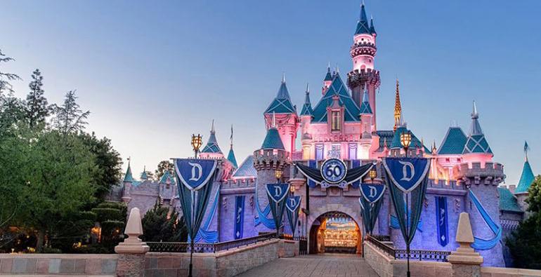 castillo Disneyland