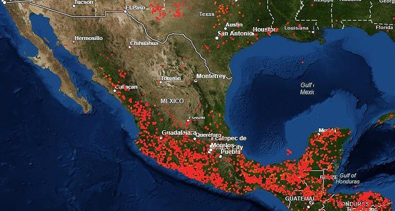 Incendios Forestales México