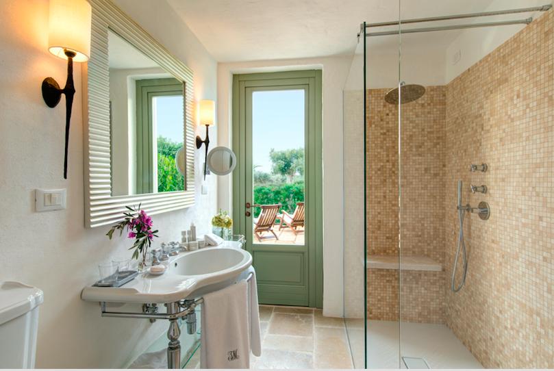 baño hotel Italia