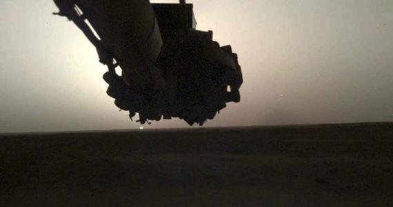 amanecer y atardecer en Marte