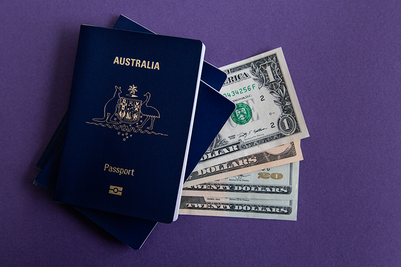 Pasaportes Diseños Australia