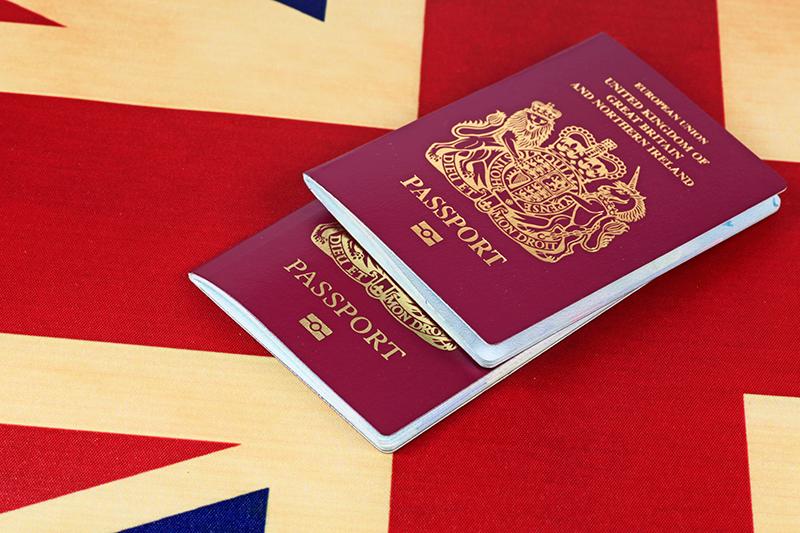 Pasaporte Reino Unido