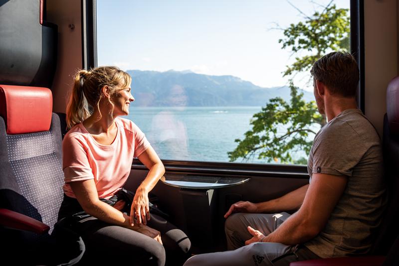 beneficios del Tren por Europa Suiza