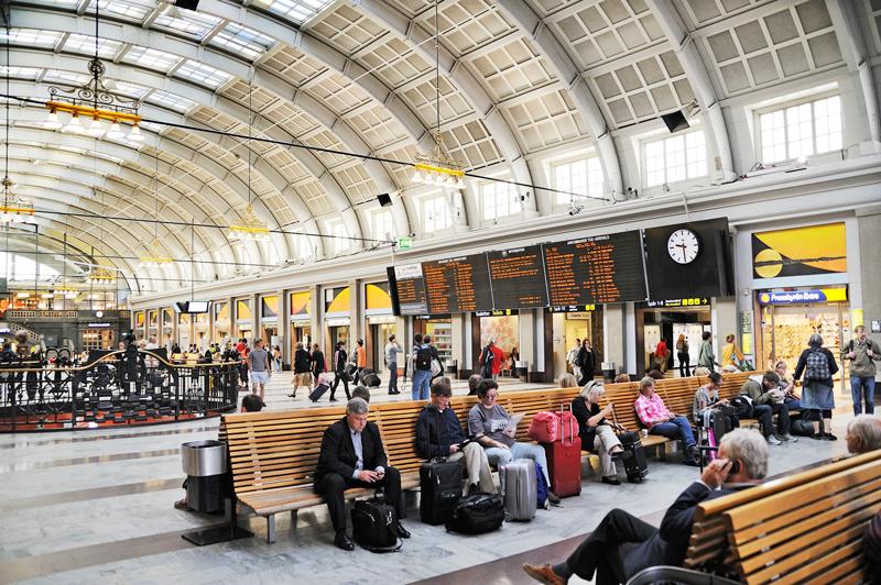 Estación de Tren por Europa Estocolmo