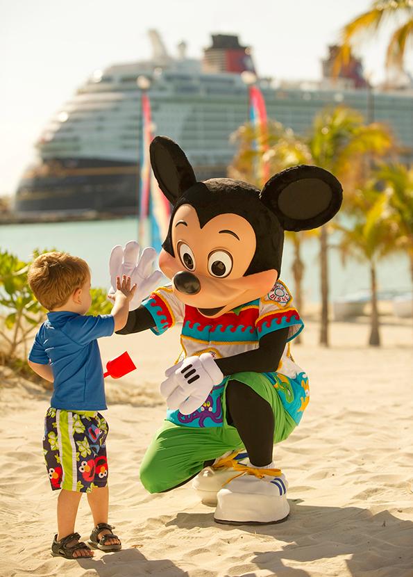 Mickey Mouse isla privada de Disney Castaway Cay