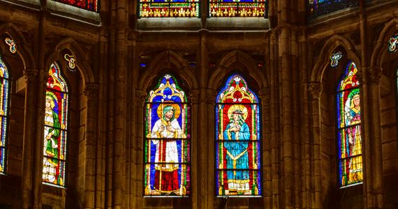 la más francesa de las catedrales españolas Catedral de León