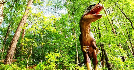 dinosaurios zoológico de Bronx