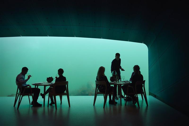 restaurante submarino Europa Noruega