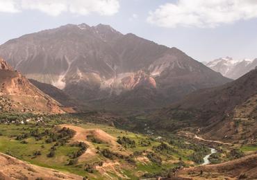 Tayikistán montañas