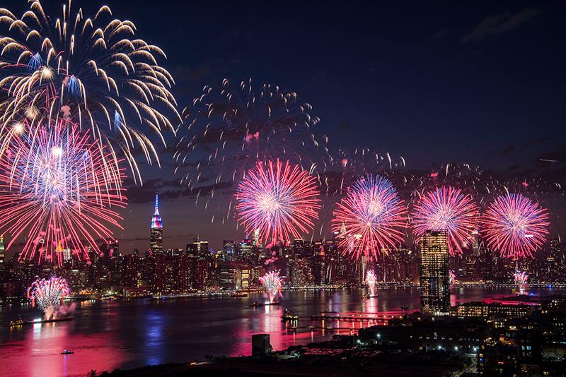 4 de julio Nueva York Macys