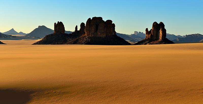 desierto del Sahara Argelia país más grande de África