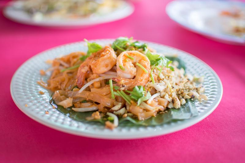 pad thai platillo más famoso de Tailandia