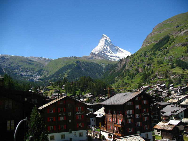 Montaña Perfecta Matterhorn